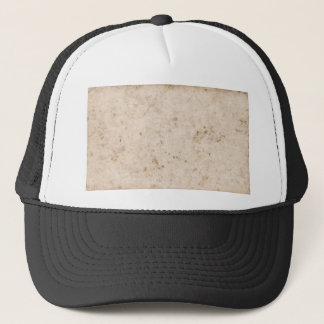 Vintage paper texture bugged trucker hat