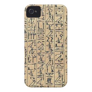 vintage papyrus ani curs hero Case-Mate iPhone 4 cases