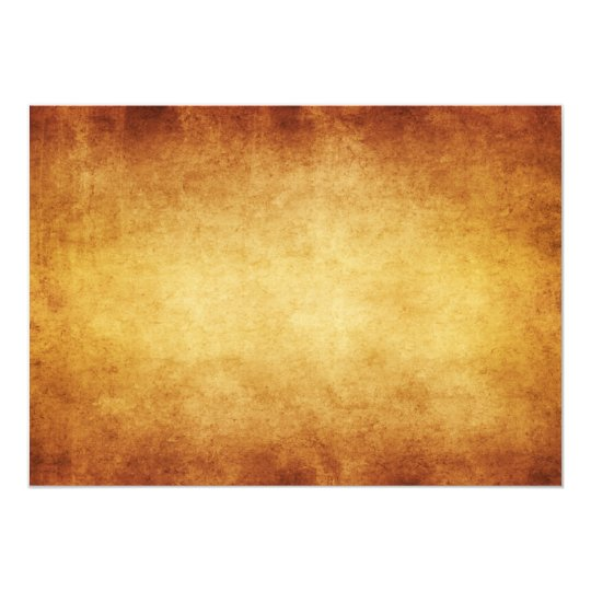 Vintage Parchment Antique Paper Background Custom Card