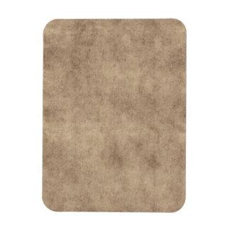 Vintage Parchment Antique Paper Background Custom Flexible Magnets