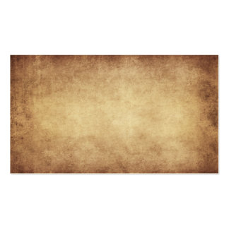 Vintage Parchment Antique Paper Background Custom Pack Of Standard Business Cards