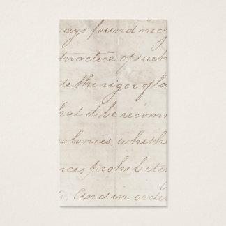 Vintage Parchment Antique TextTemplate