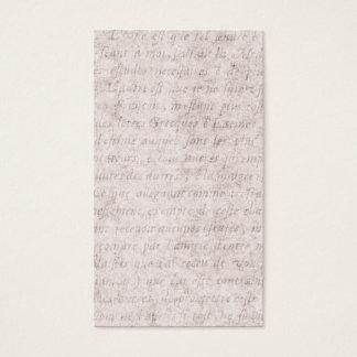 Vintage Parchment Antique Text Template Blank