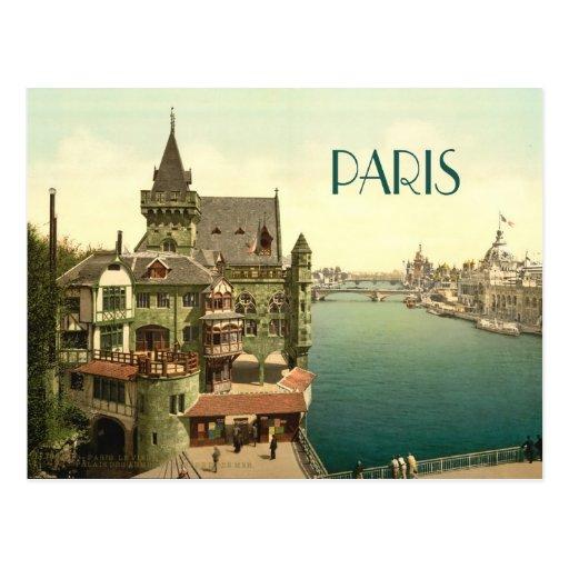 Vintage Paris 1900's Postcard