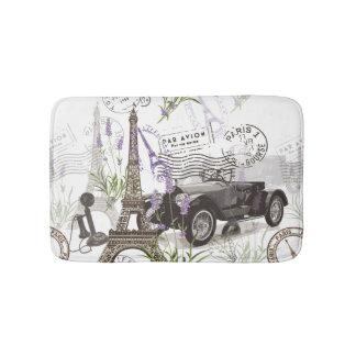 Vintage Paris Bath Mat
