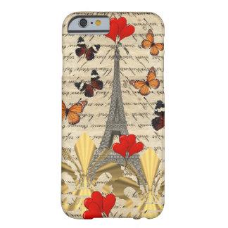 Vintage Paris butterflies iPhone 6 Case