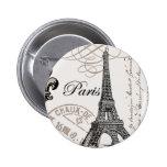 Vintage Paris...button pin