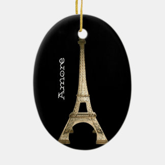 VINTAGE PARIS CHRISTMASOrnament CUSTOM CHIC Ornament