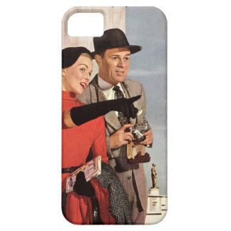 Vintage Paris - Eiffel Tower Barely There iPhone 5 Case