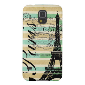 Vintage Paris & Eiffel Tower Blackberry Bold Galaxy S5 Covers