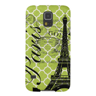 Vintage Paris & Eiffel Tower Blackberry Bold Galaxy S5 Case