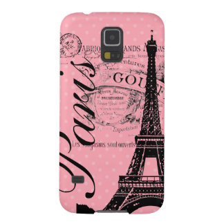 Vintage Paris & Eiffel Tower Blackberry Bold Galaxy S5 Cases