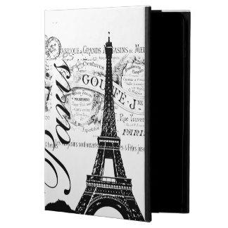 Vintage Paris & Eiffel Tower iPad Air Case