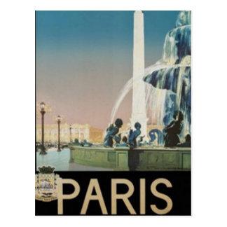 Vintage Paris, France - Postcard