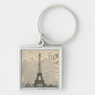 Vintage Paris French chic Eiffel Tower Key Chains
