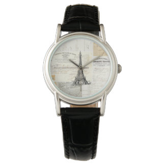 Vintage Paris French Ephemera Watch