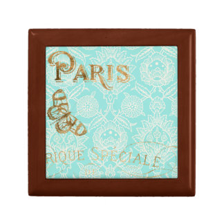 Vintage Paris Gold Design Gift Box
