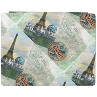 Vintage Paris iPad Cover