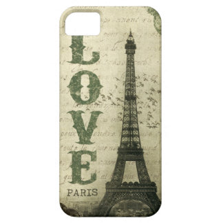 Vintage Paris iPhone 5 Cases