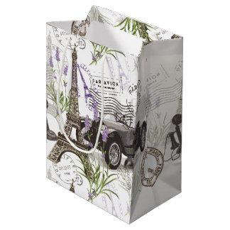 Vintage Paris Medium Gift Bag