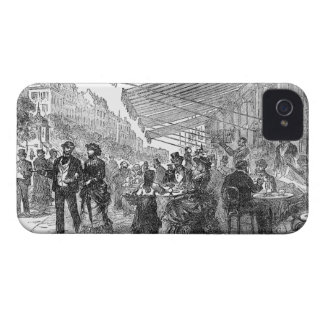 Vintage Paris Montmartre Cafe Blackberry Bold Case