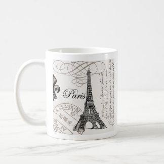 Vintage Paris...mug Basic White Mug