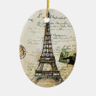 VINTAGE Paris Ornament CUSTOM CHIC