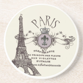 Vintage Paris Romance...coaster