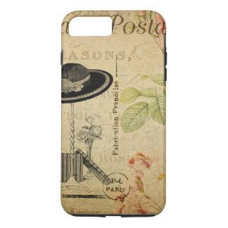 Vintage Paris - Shabby Chic iPhone 8 Plus/7 Plus Case