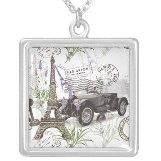 Vintage Paris Silver Plated Necklace