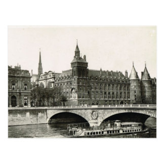 Vintage Paris,   Tribunal Postcard