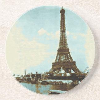 Vintage Paris Water Color Coasters