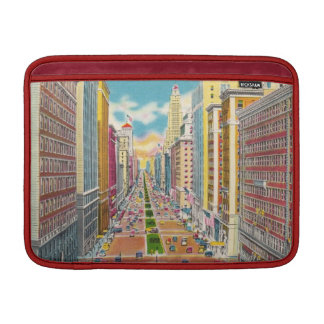 Vintage Park Avenue  New York - MacBook Sleeves