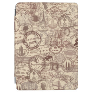 Vintage Passport Stamps iPad Smart Cover iPad Air Cover