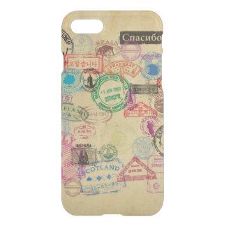 Vintage Passport Stamps iPhone 7 Case