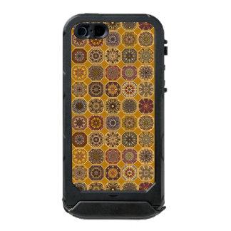 Vintage patchwork with floral mandala elements incipio ATLAS ID™ iPhone 5 case