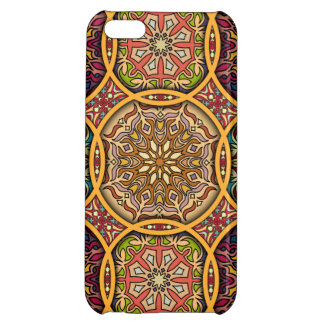 Vintage patchwork with floral mandala elements iPhone 5C cases