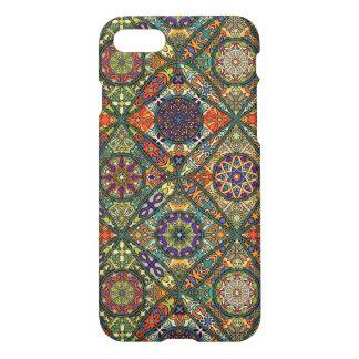Vintage patchwork with floral mandala elements iPhone 8/7 case