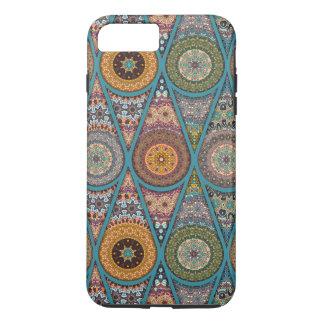 Vintage patchwork with floral mandala elements iPhone 8 plus/7 plus case