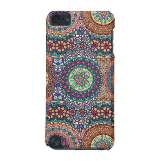 Vintage patchwork with floral mandala elements iPod touch 5G cases