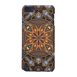 Vintage patchwork with floral mandala elements iPod touch 5G cover