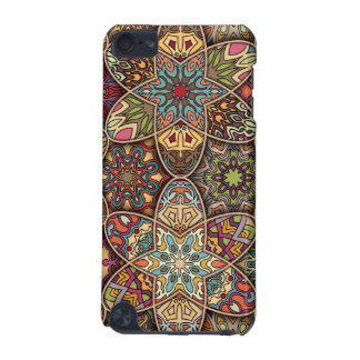 Vintage patchwork with floral mandala elements iPod touch (5th generation) case