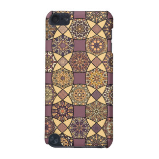 Vintage patchwork with floral mandala elements iPod touch (5th generation) cases