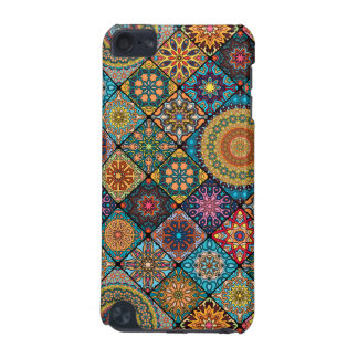 Vintage patchwork with floral mandala elements iPod touch (5th generation) cover