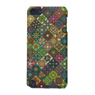 Vintage patchwork with floral mandala elements iPod touch (5th generation) covers