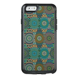 Vintage patchwork with floral mandala elements OtterBox iPhone 6/6s case
