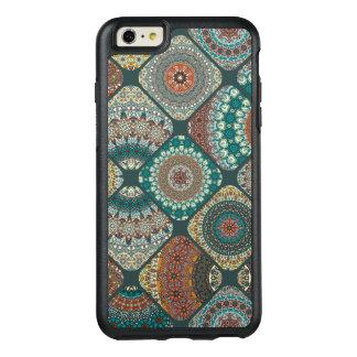 Vintage patchwork with floral mandala elements OtterBox iPhone 6/6s plus case