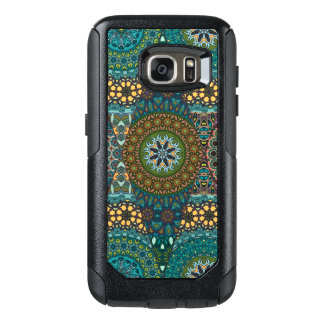 Vintage patchwork with floral mandala elements OtterBox samsung galaxy s7 case