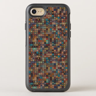 Vintage patchwork with floral mandala elements OtterBox symmetry iPhone 7 case