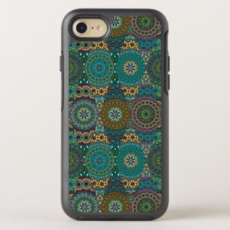 Vintage patchwork with floral mandala elements OtterBox symmetry iPhone 8/7 case